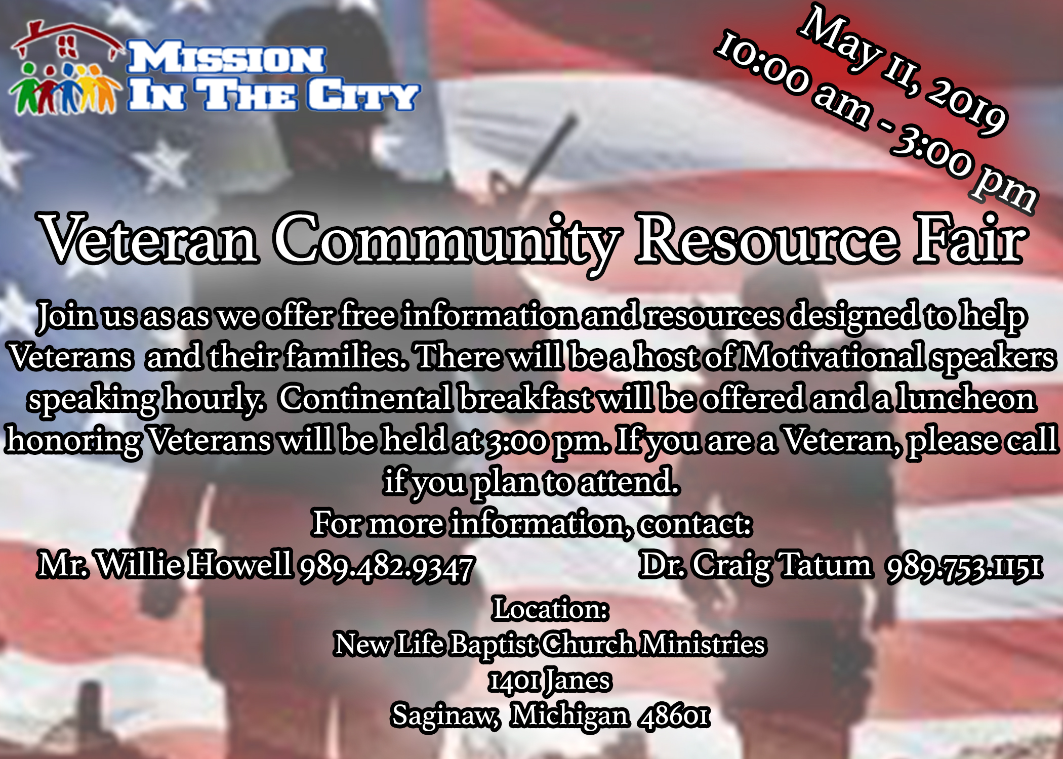 Veterans Day Resource fair NL